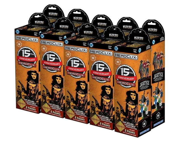DC HeroClix: 15th Anniversary Elseworlds Booster Case (20) With Incentive Figure