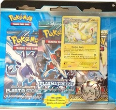 Pokemon 2015 BW 3 Pack and Promos Double Blister W/ Ampharos