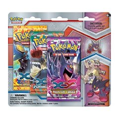 Pokemon XY Mega Evolution 3 Booster Pack Blister & Mega Gengar Collectors Pin