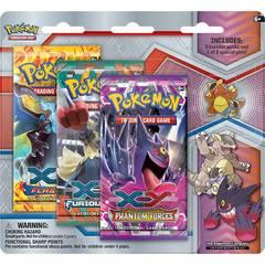 Pokemon XY Mega Evolution 3 Booster Pack Blister & Mega Kangaskhan Collectors Pin