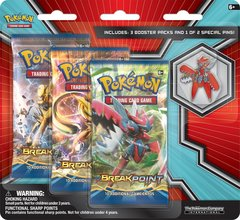 Pokemon XY Mega Evolution 3 Booster Pack Blister Mega Scizor Collectors Pin