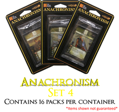 Anachronism Set 4 Booster Box - (16 packs)