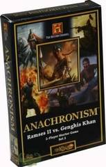 Anachronism Starter Set 2 - 2 Player Starter Set Ramses II vs. Genghis Kahn