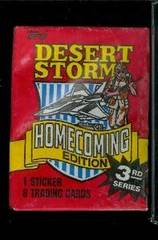 Desert Storm - Homecoming Edition 8 Card Pack
