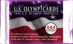 U.S. Olympicards U.S. Olympic Hopefuls 10 Collector Cards (1992)