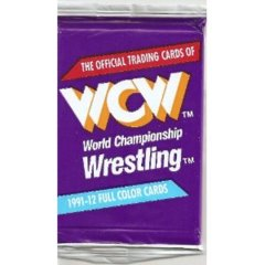 WCW WORLD CHAMPIONSHIP WRESTLING TRADING CARD PACK (1991 IMPEL)