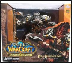 World of Warcraft Action Figures Deluxe Collector Figure: Tauren Hunter: Korg Highmountain