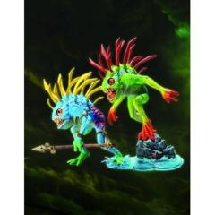 World of Warcraft Action Figures Series 4: Murloc Action Figure 2-Pack: Fish-eye and Gibbergill