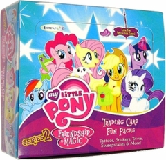 My Little Pony Friendship is Magic Trading Card Series 2 Sealed Box (30 Packs)
