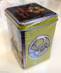Ivory Edition Dragon Clan Theme Deck Starter Tin 3 Booster & Rulebook