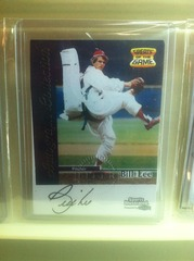 Bill Lee Autographed Card