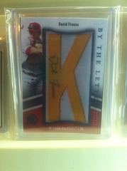 David Freese Autographed Rookie Card BTLRDF