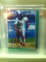 Ozzie Smith Autographed Card 15