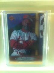 Ozzie Smith Autographed Card 440