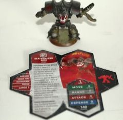 Heroscape Loose Figures: Deathwalker 9000 Figure w/Card