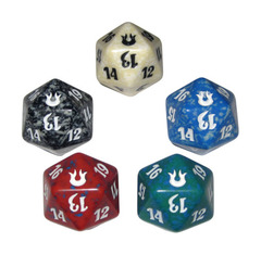 Magic Spindown Die - Born of the Gods - Set of 5
