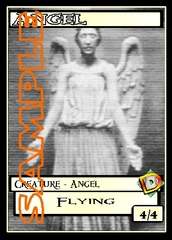 Angel Token – Custom: Doctor Who: The Weeping Angels H