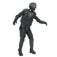 McFarlane Toys The Walking Dead TV Series 4 Riot Gear Zombie Action Figure