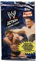 WWE ACTION TRADING CARDS (2007 TOPPS)