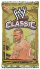WWE 2011 CLASSIC TRADING CARD HOBBY PACK