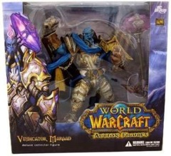 World of Warcraft Action Figures Deluxe Collector Figure: Vindicator Maraad