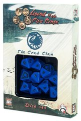 Legend of the Five Rings Crab Clan Dice Set Of 10 Dice (Q-Workshop)