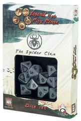 Legend of the Five Rings Spider Clan Dice Set Of 10 Dice (Q-Workshop)