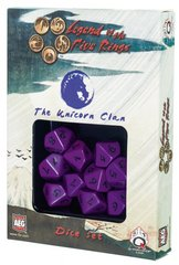 Legend of the Five Rings Unicorn Clan Dice Set Of 10 Dice (Q-Workshop)