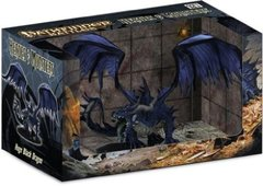 Pathfinder Miniatures Heroes & Monsters Huge Black Dragon Promo Figure Mint Figure in Mint Box