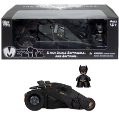 Batman the Dark Knight Rises Mez-itz Batmobile Tumbler w/Batman Action Figure Playset
