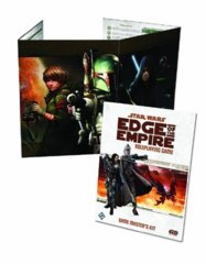 Star Wars Edge of The Empire RPG Game Master's Kit