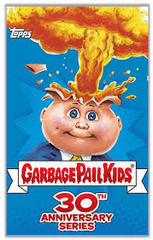 Garbage Pail Kids 30th Anniversary Series Factory Sealed Hobby Box with 24 Sticker Packs