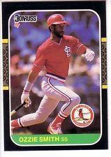 St. Louis Cardinal 1987 Donruss Complete Team Set
