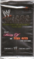 WWE CHAOS TRADING CARDS (2004 FLEER)