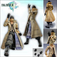 FINAL FANTASY XIII PLAY ARTS Kai : Snow Villiers
