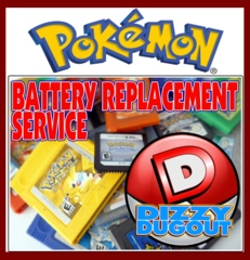 Pokemon Battery Replacement Service