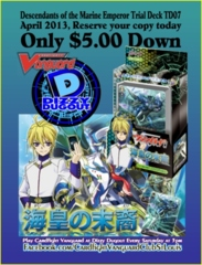 Descendants of the Marine Emperor Aqua Force Trial Deck (TD07)