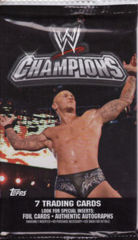 WWE CHAMPIONS TRADING CARD PACK