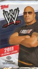 WWE 2011 TOPPS WRESTLING  TRADING CARD HOBBY PACK