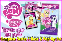 My Little Pony Friendship is Magic Trading Card Series 1 Complete Base & Pop-up Set