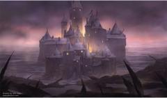Artists of Magic Play Mat 4 DARK CASTLE w/Artwork by John Avon