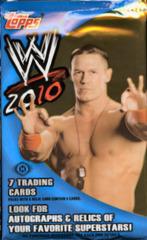 WWE 2010 TOPPS WRESTLING TRADING CARDS HOBBY PACK