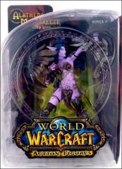 World of Warcraft Action Figures Series 5: Night Elf Hunter: Alathena Moonbreeze with Sorna