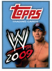 WWE 2009 TOPPS WRESTLING TRADING CARDS RETAIL PACK