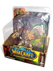 World of Warcraft Action Figures Premium Series 1: Gnoll Warlord: Gangris Riverpaw