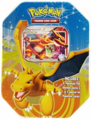 Charizard G LV X Collectors Tin - Pokemon Platinum Fall 2009