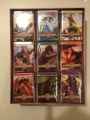 Ivory Edition Box Set of 9 All Clan Theme Deck Starter Tins w/27 Booster