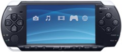 PSP-2001 System W/Memory Card & Charger