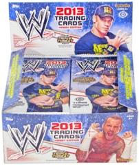 WWE 2013 TOPPS WRESTLING TRADING CARD HOBBY PACK