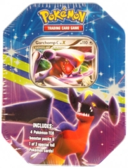 Garchomp C LV.X Collectors Tin - Pokemon Platinum Fall 2009